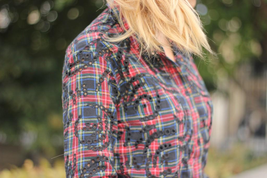 chemise tartan