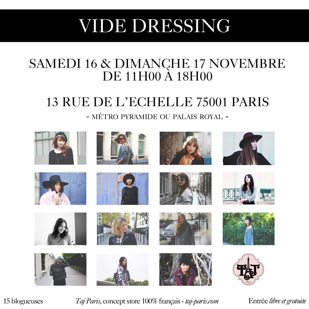 Vide dressing blogueuses