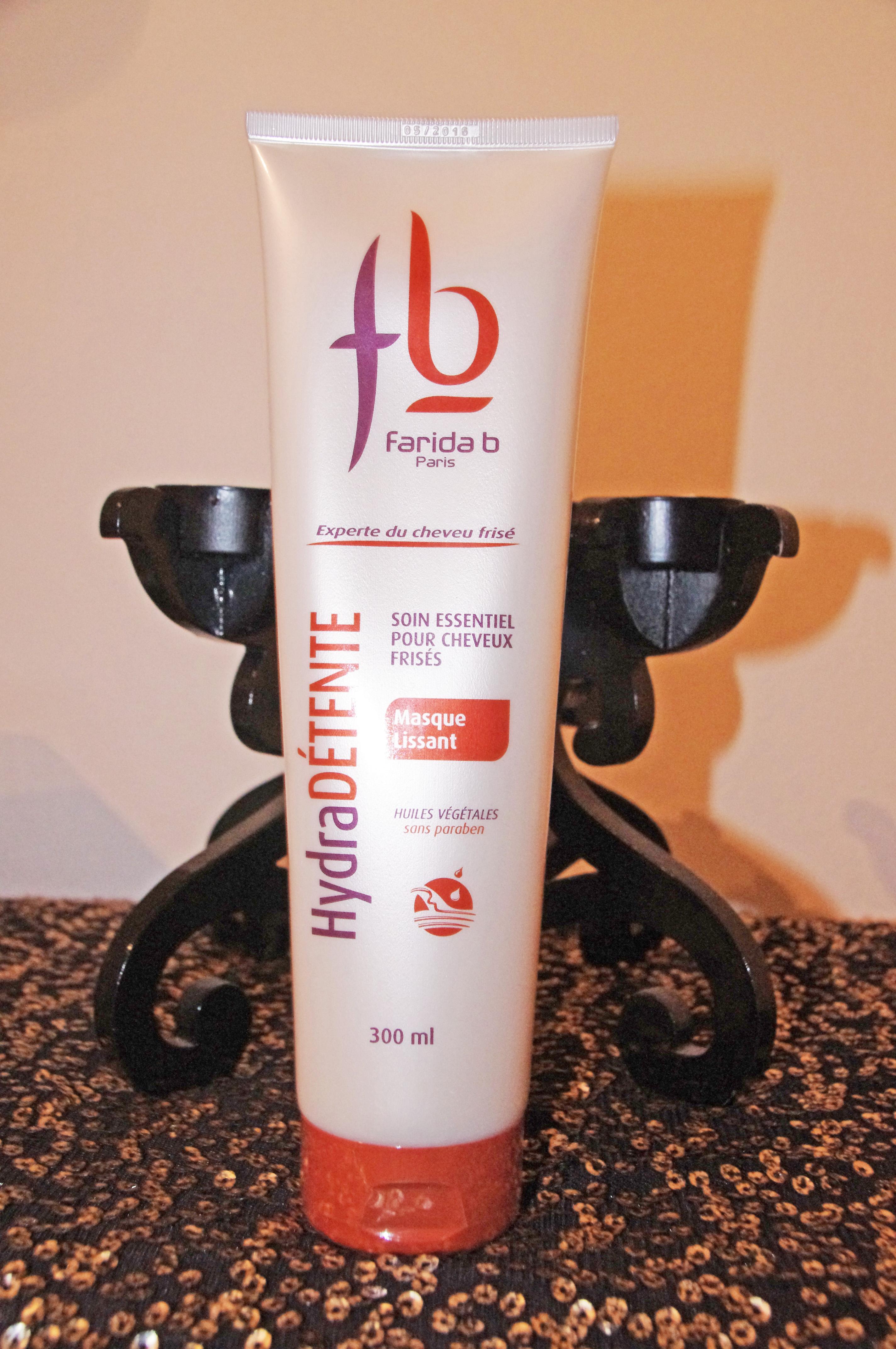concours, blog, farida b, gamme hydra détente, hydra détente, soin lissant, soin cheveux bouclés