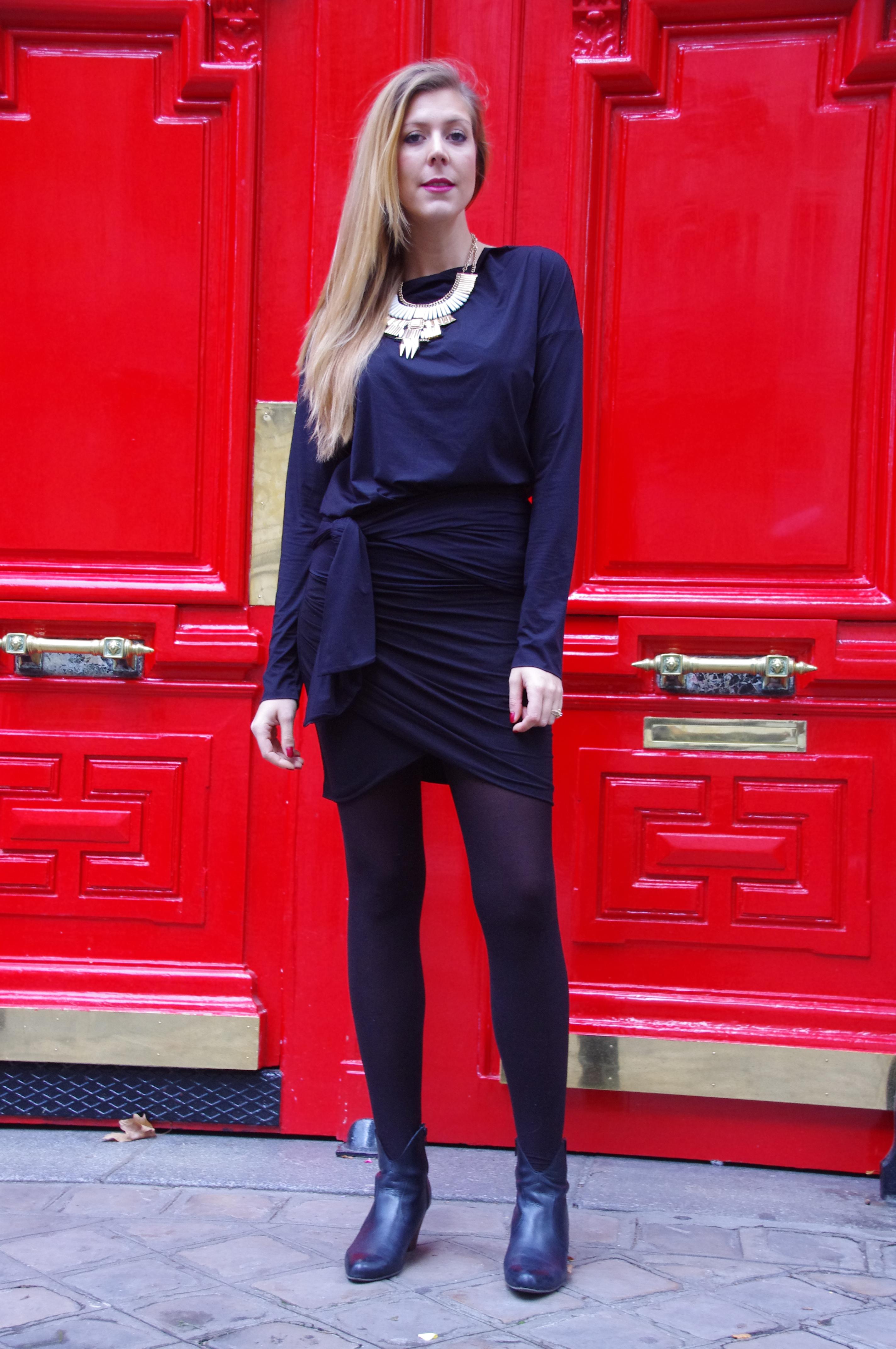 X DerhyX CamaieuX WolfordX American vintageX GémoX PrimarkX look blackX ootdX lookX manteau tricoloreX Les cerises de mars