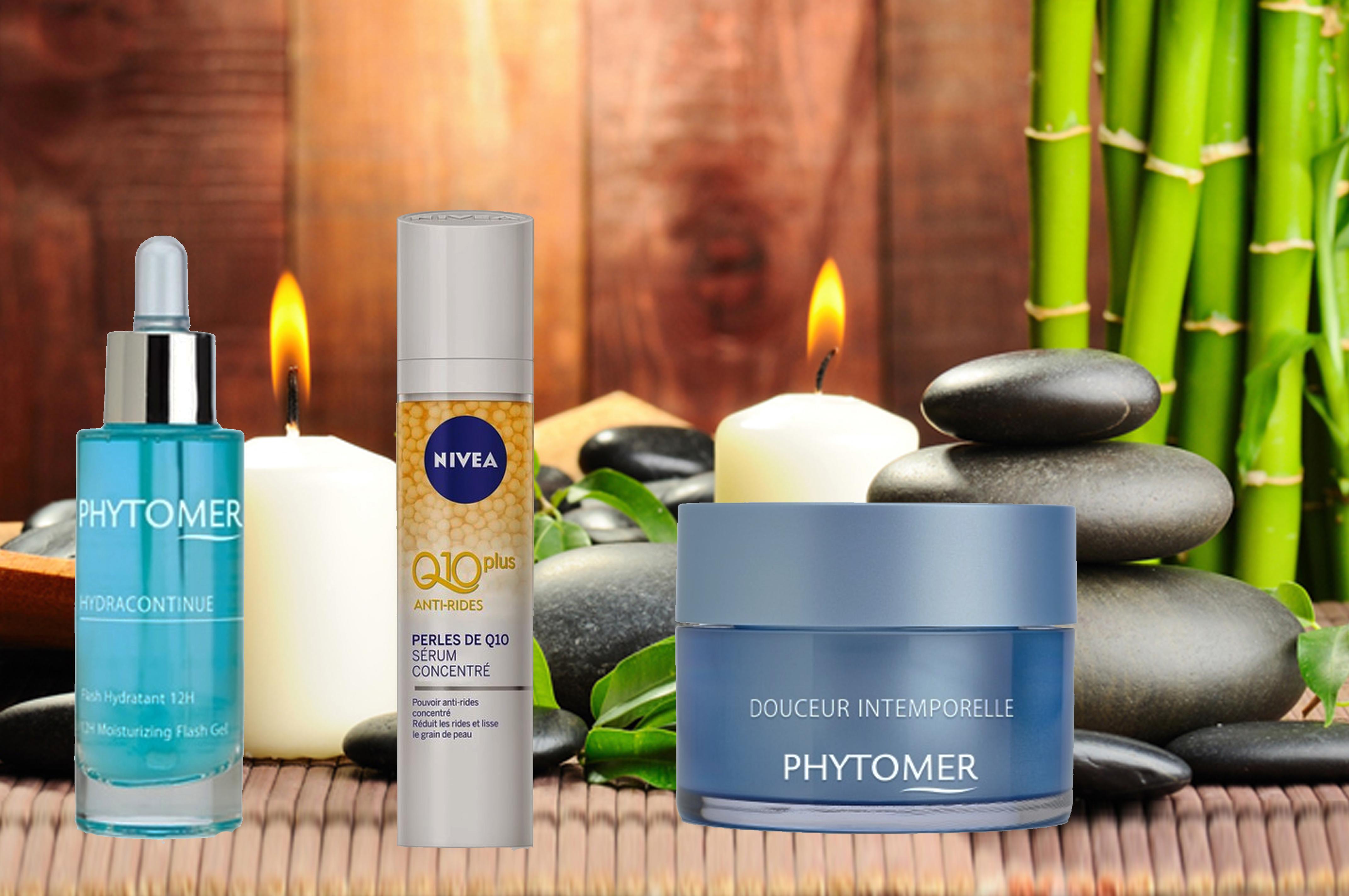 Routine soin hiver, Routine peau sèche, Nivea, Q10, Phytomer, Blog beauté