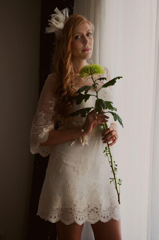 Robe de mariée pas cher, bon plan robe de mariée, tenue mariage, look mariée, robe de mariée petit prix, nafnaf, robe bohème, robe d'entelle, look bohème, bibi, coiffe, mariée, blogueuse mariage, blog mariage