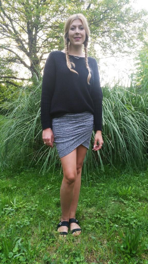 look mi saison, jean station, les petites bombes, vero modo, look femme, ootd, tenue du jour, mode femme, look mi saison, blogueuse mode, blog mode