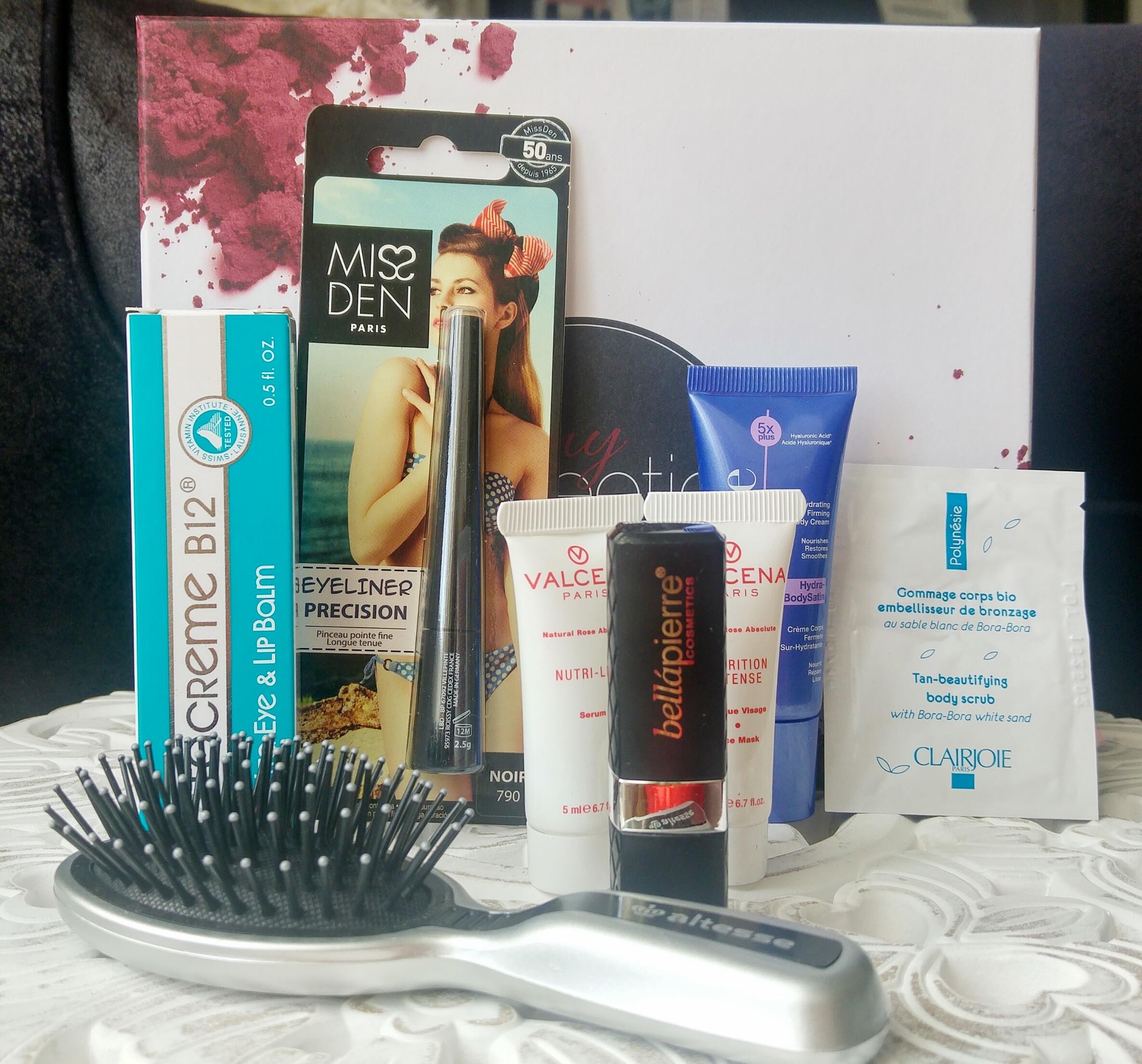 my sweetie box, box beauté, maquillage pas cher, soin pas cher, découvertes, haul, unboxing, blog beauté, blogueuse beauté