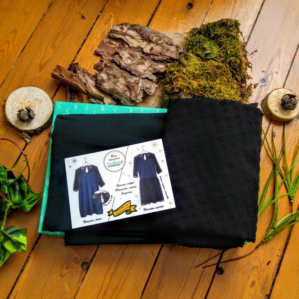 diy, box diy, box couture, mercerie en ligne, robe sur mesure, robe couture maison, robe maison, mercerie a domicile, craftine box, box création, vêtements sur mesure, blog mode, blogueuse mode, test, avis