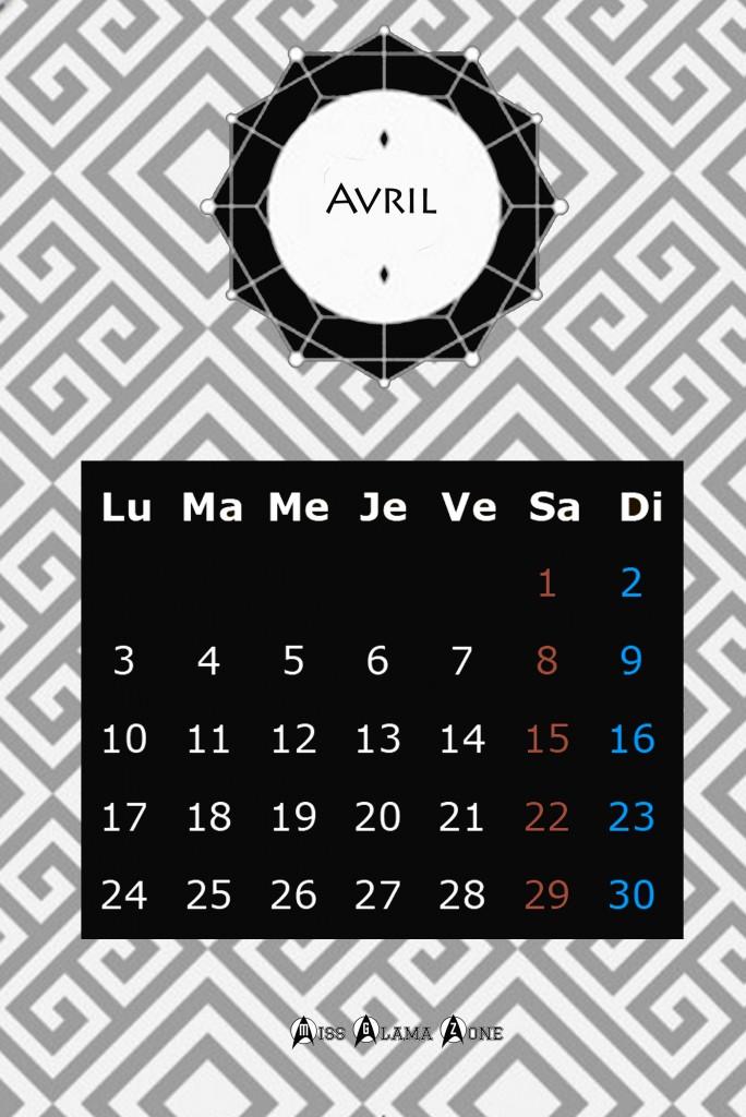 calendrier graphique, calendrier gratuit, calendrier design, blog cadeau, graphisme, calendrier 2017, blog diy