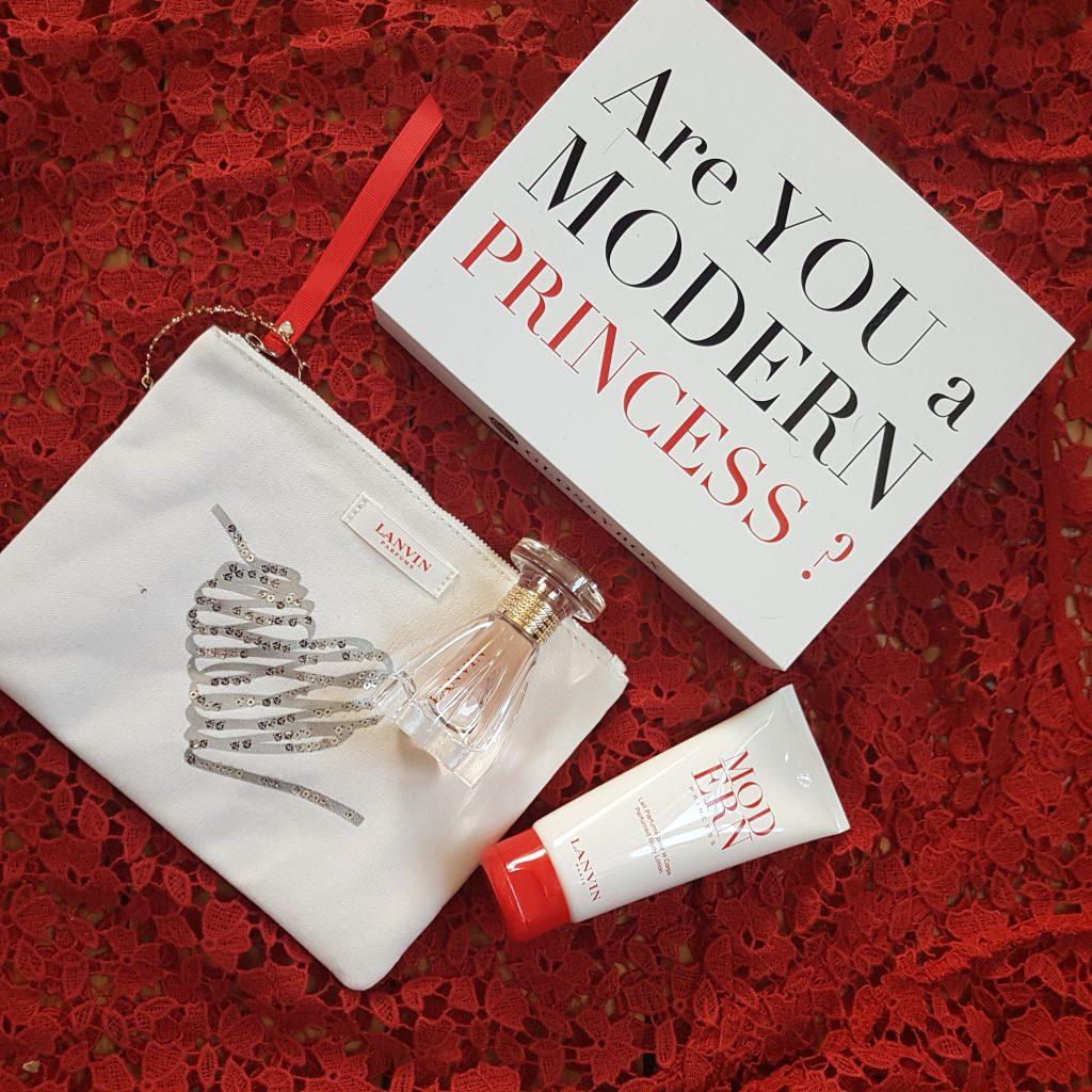 Glossybox, moderne princess, box beauté, édition limitée, lanvin, coffret cadeau, test, avis, revue, blog beauté, blogueuse beauté