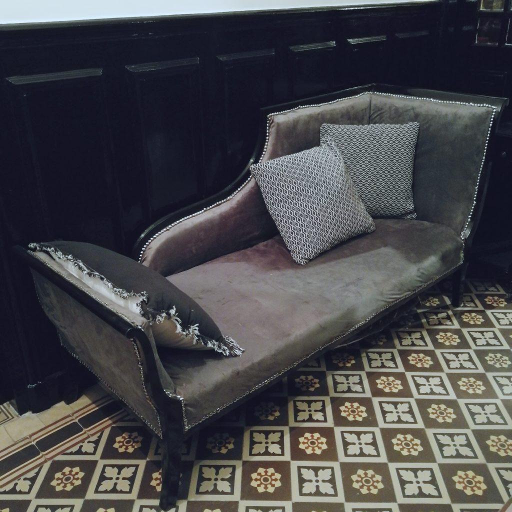 décoration intérieur, shabby chic, méridienne baroque, diy meuble, relooking méridienne, relooking fauteuil baroque, blog déco, blogueuse décoration, blog diy, blogueuse diy, bon plan déco