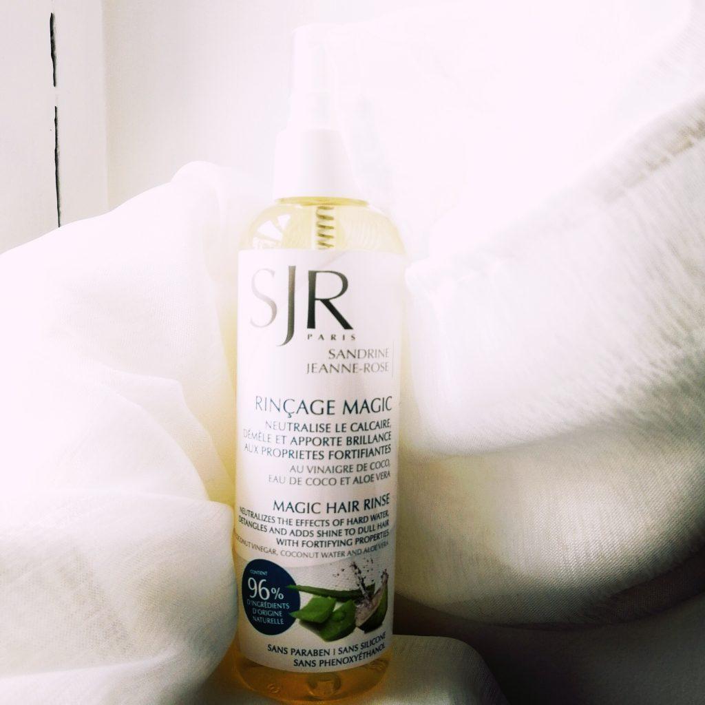 SJR, routine cheveux, soins cheveux naturels, soins cheveux bio, routine capillaire bio, test, avis, blog bio, blogueuse naturelle